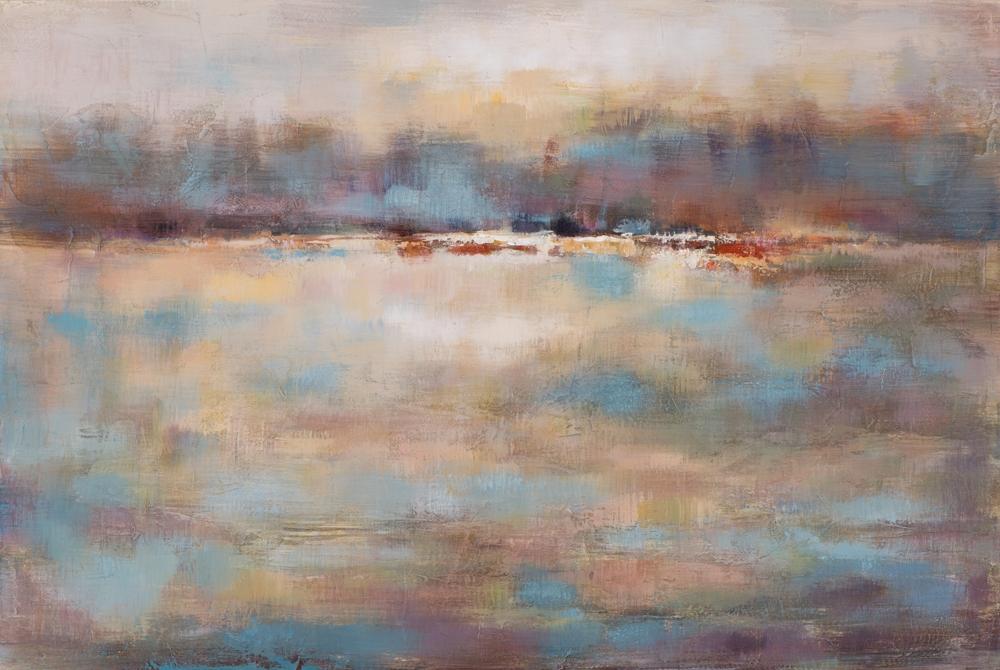schilderij abstract landschap 80x120