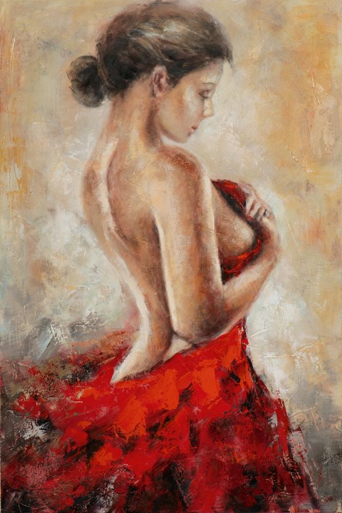 Schilderij figuratief 60x90