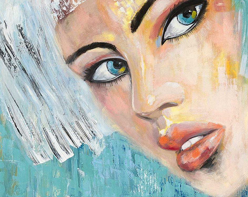 schilderij figuratief  120x150