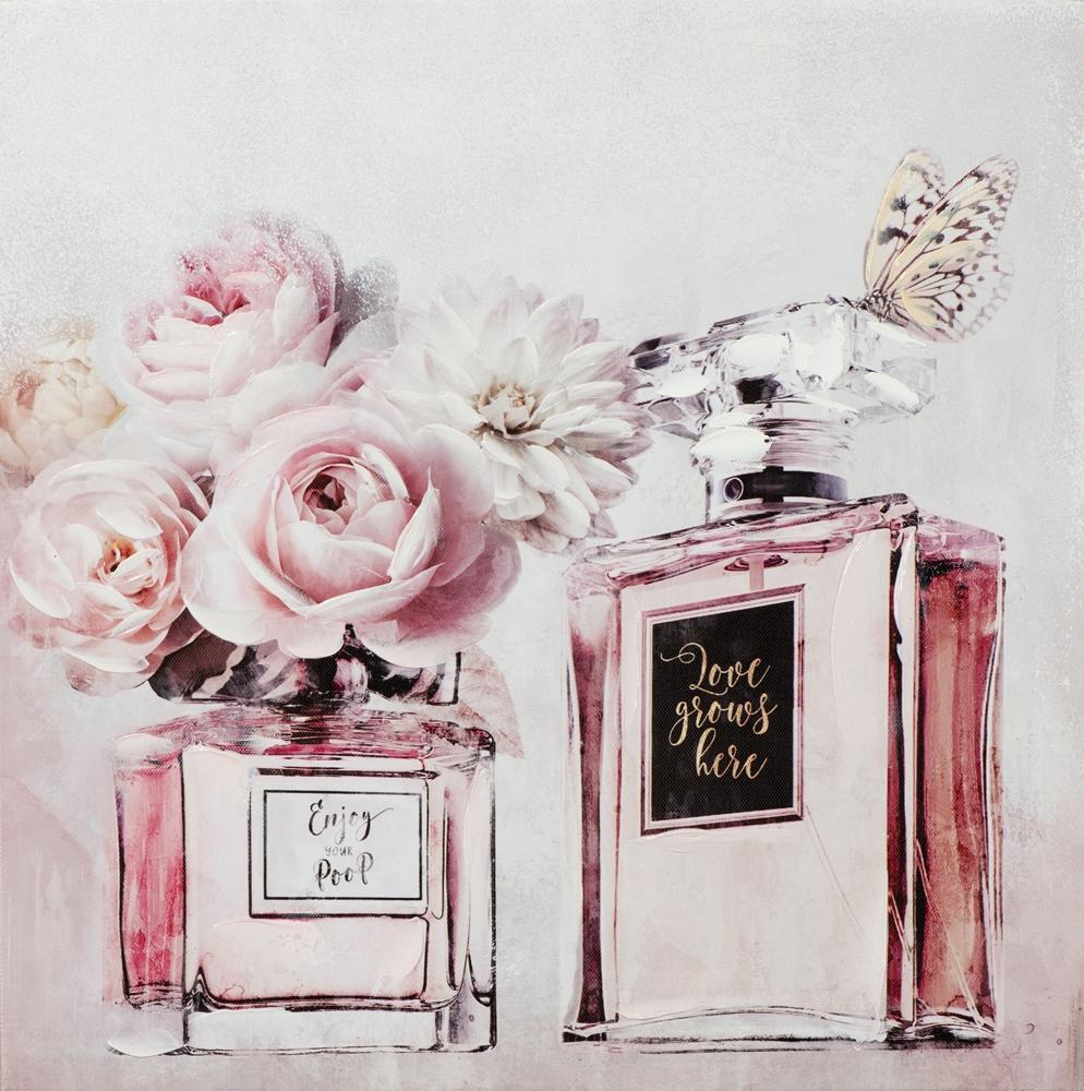 schilderij parfum 40x40