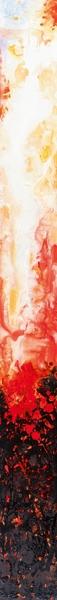 Schilderij abstract 15x150