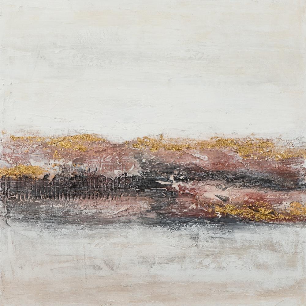 Schilderij abstract 60x60
