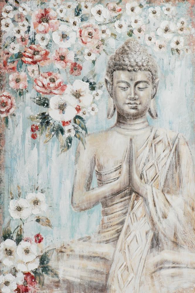 Schilderij Boeddha 80x120