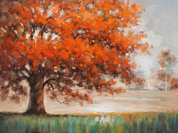 schilderij bomen 90x120