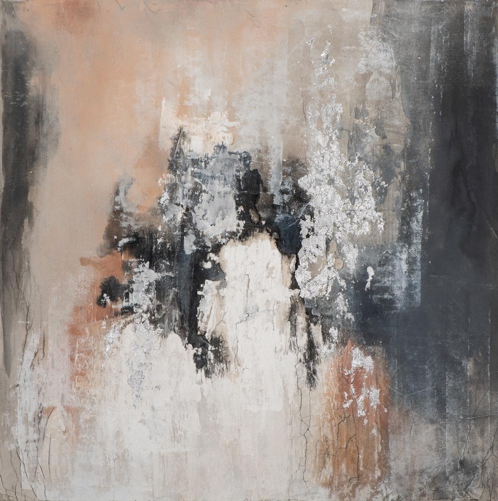 Schilderij abstract 115x115