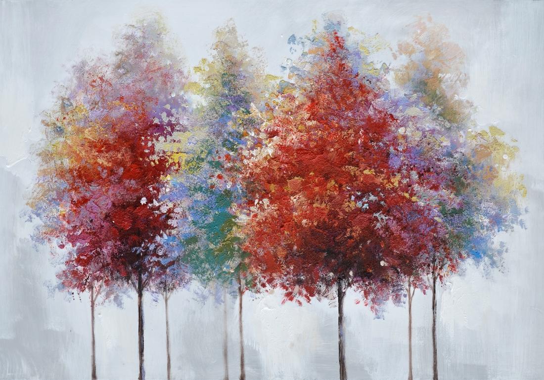 Schilderij bomen 70x100