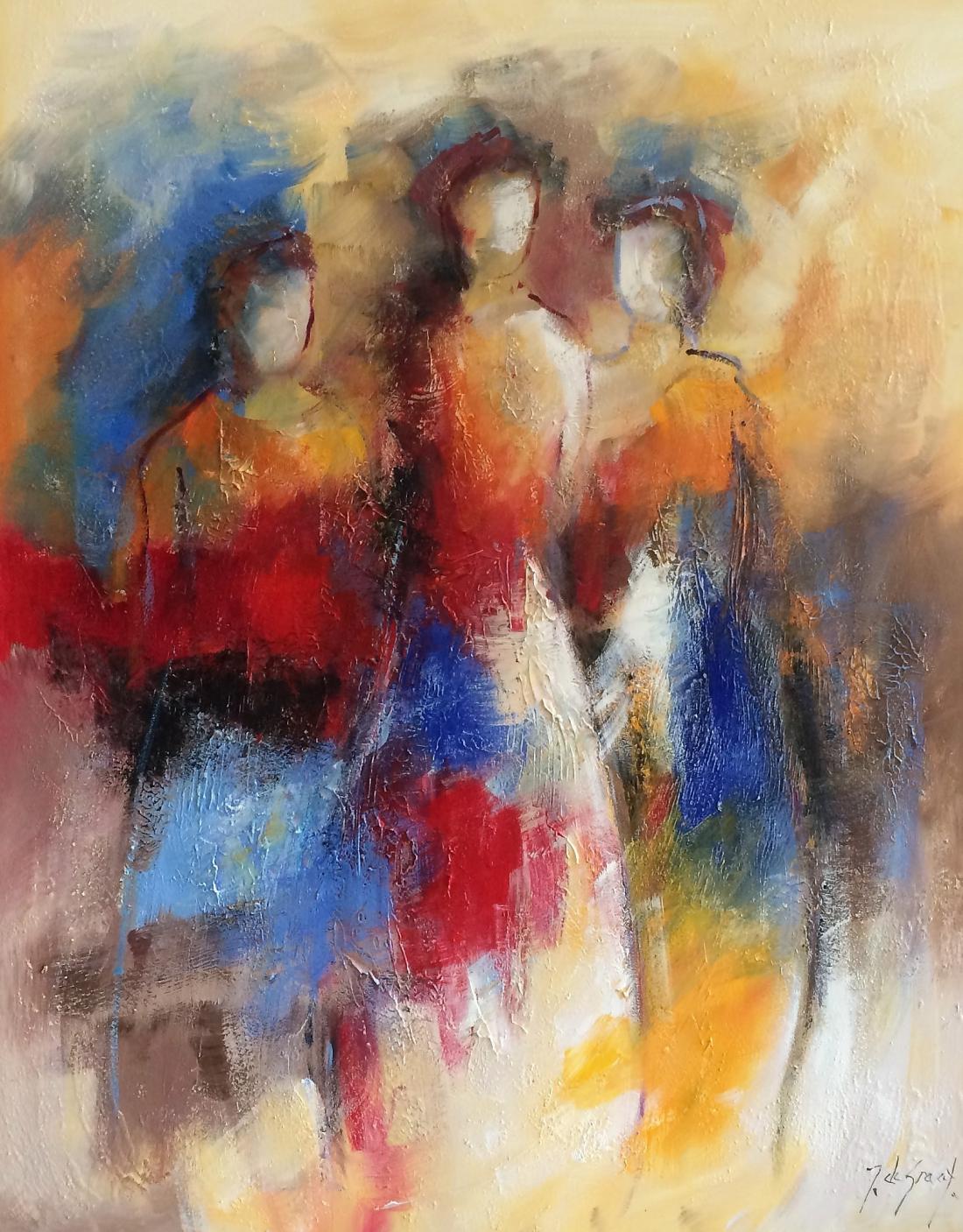Schilderij figuratief 80x100