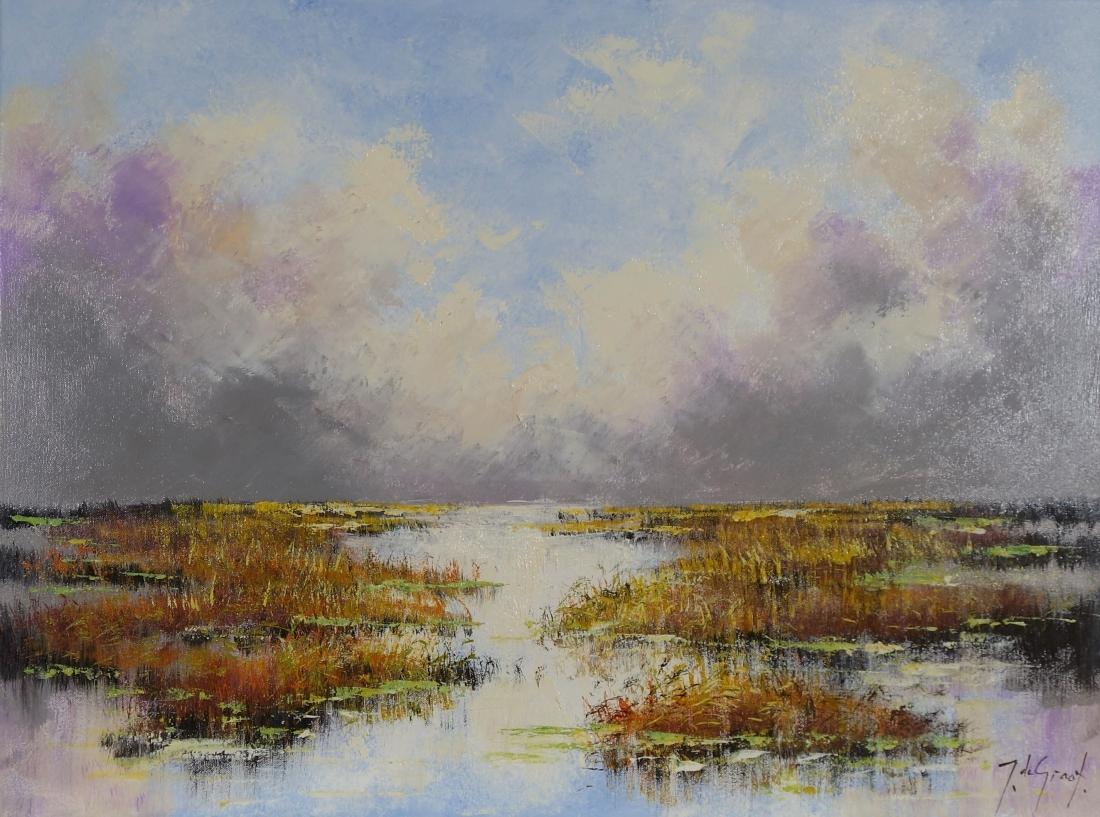 Schilderij landschap 60x80