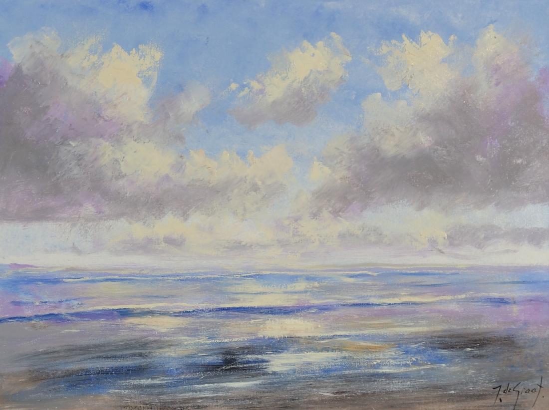 Schilderij strand 60x80
