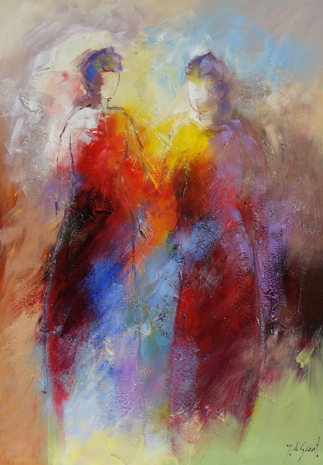 Schilderij figuratief 70x100