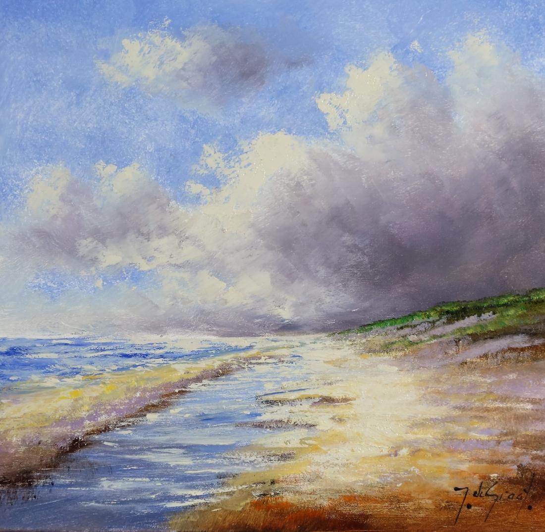 Schilderij Strand 50x50