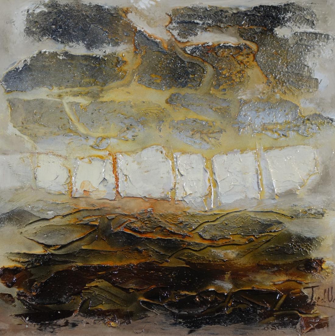 Schilderij abstract 50x50