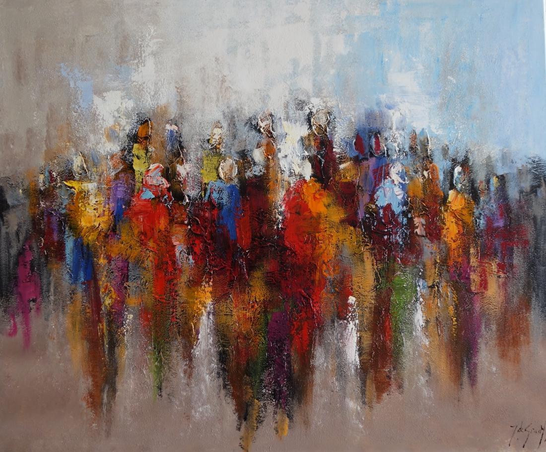 Schilderij figuratief 100x150