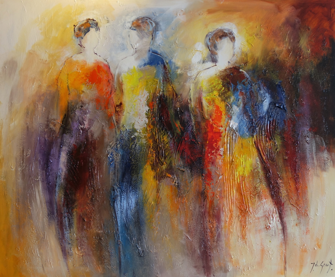 Schilderij figuratief 100x120