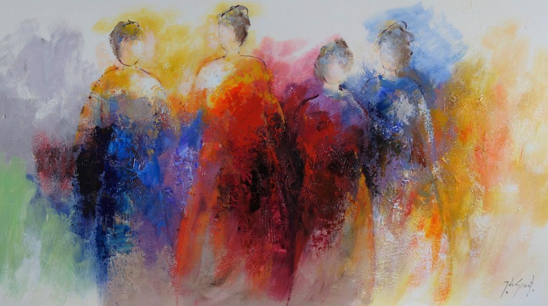 Schilderij figuratief 80x140