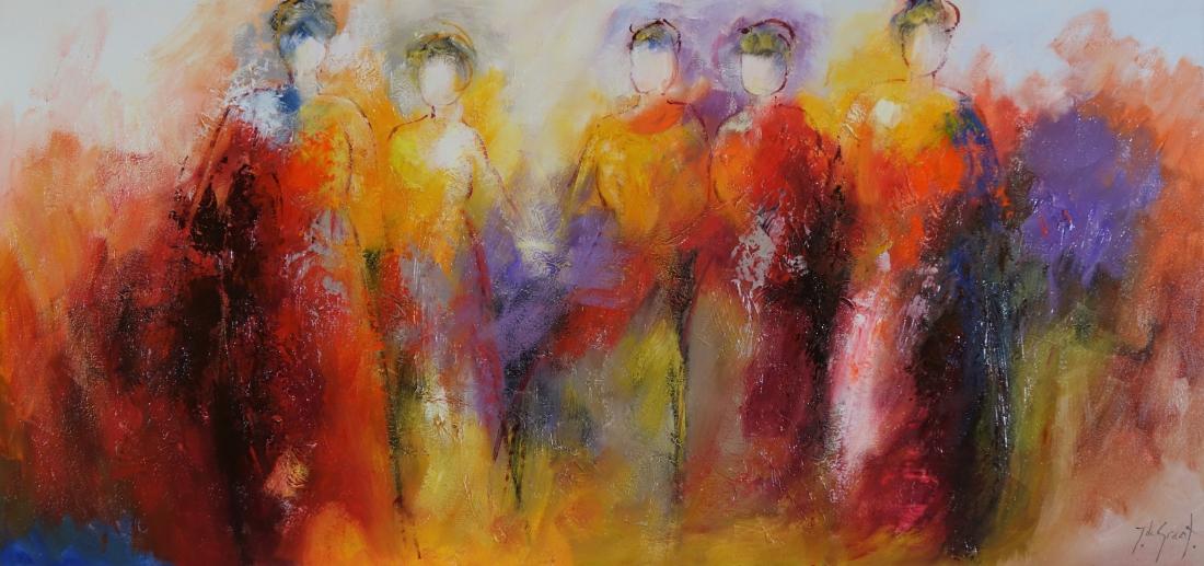 Schilderij figuratief 80x160