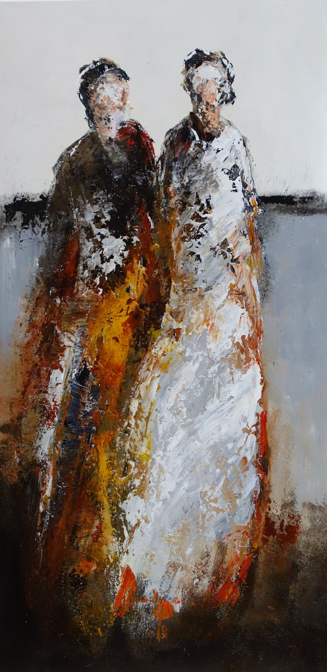 Schilderij figuratief 60x120