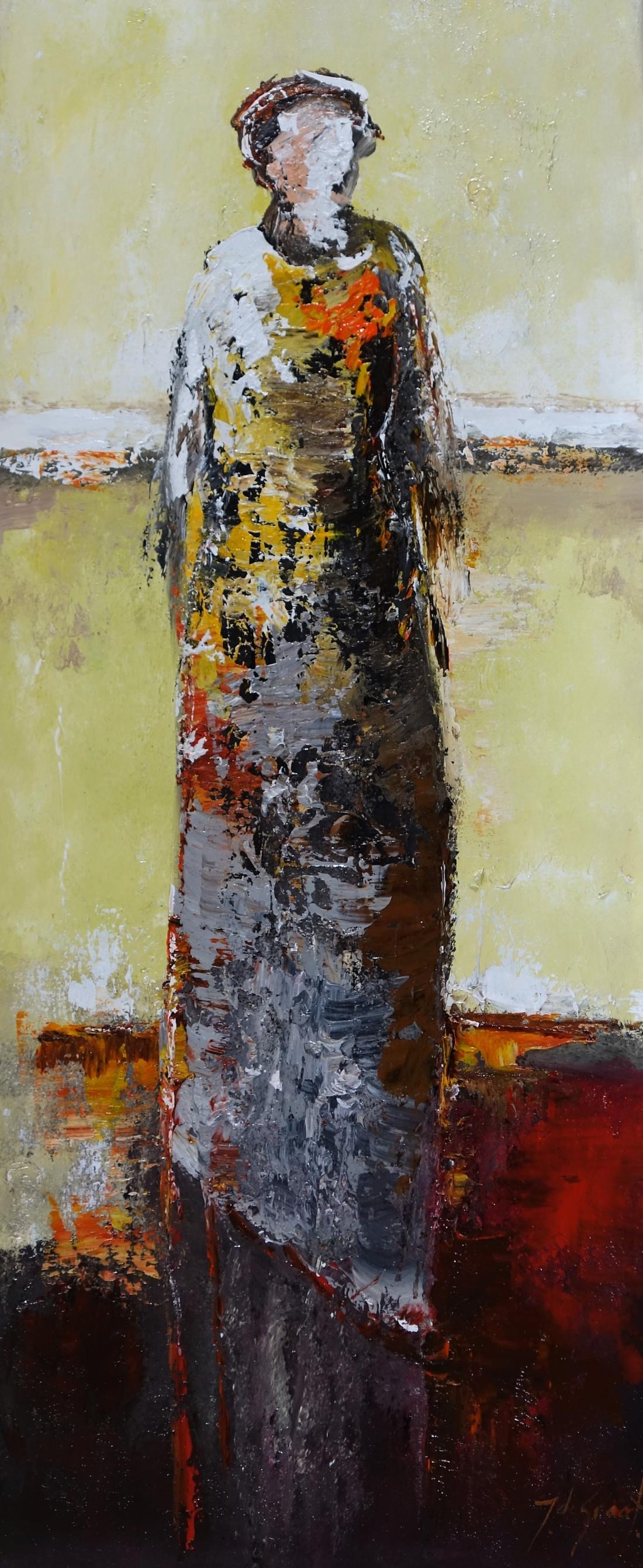 Schilderij figuratief 50x120