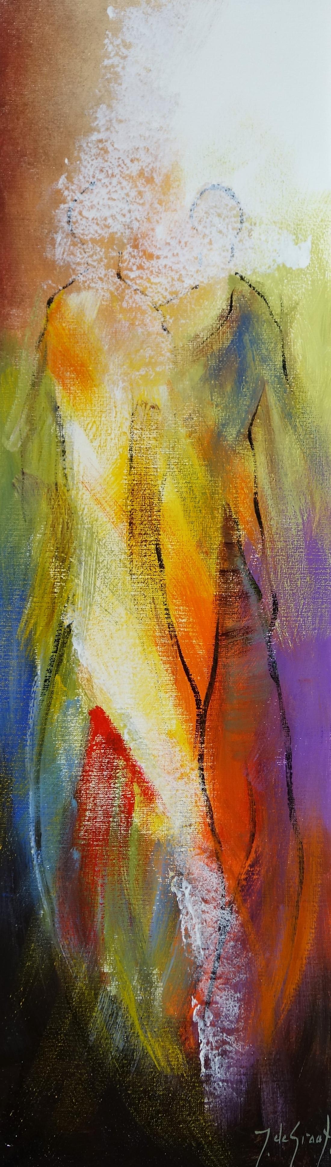 Schilderij figuratief 30x100