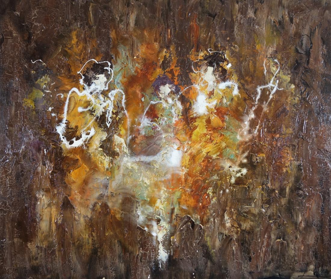Schilderij abstract 100x120