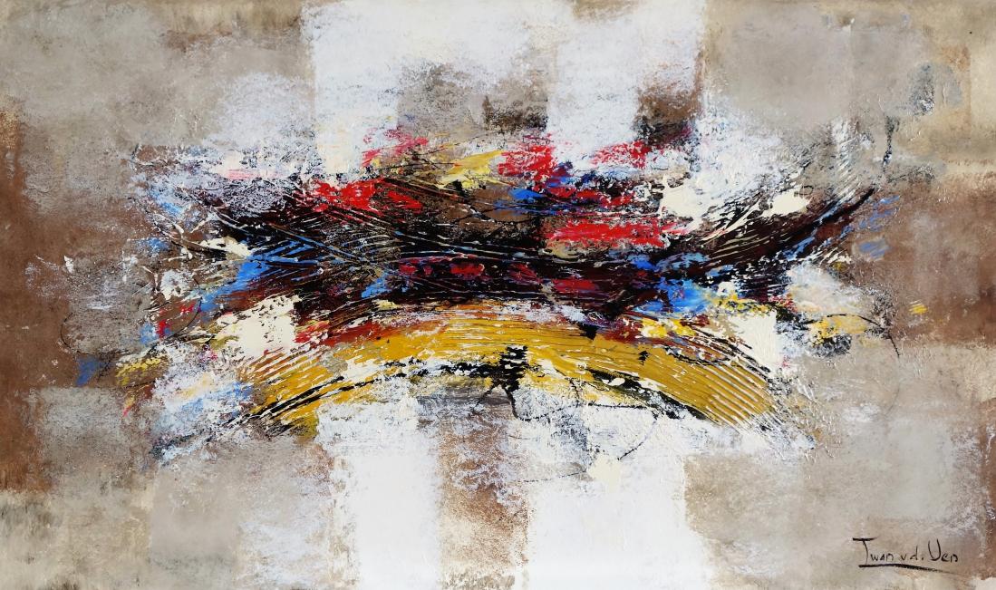 schilderij abstract 70x120