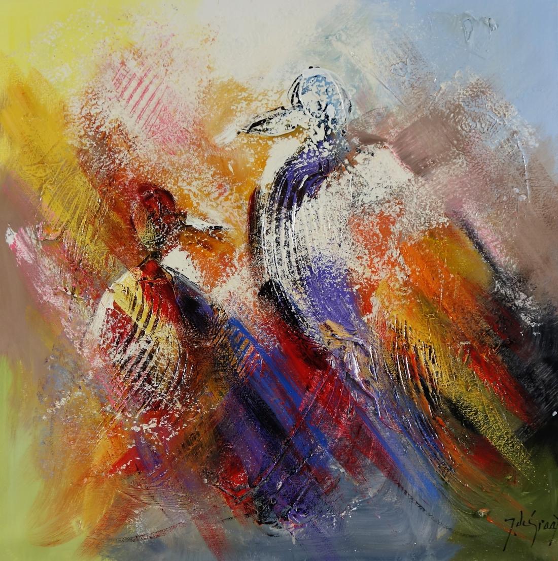 Schilderij figuratief 60x60