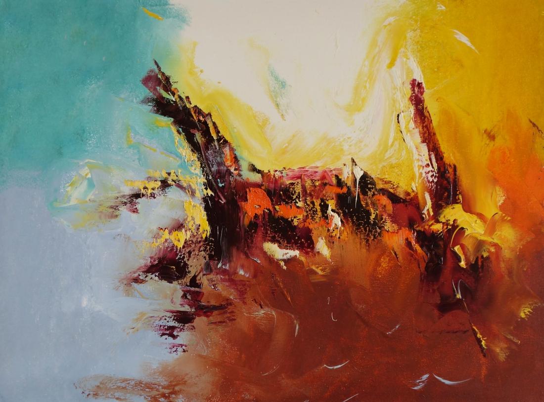 Schilderij abstract 60x80