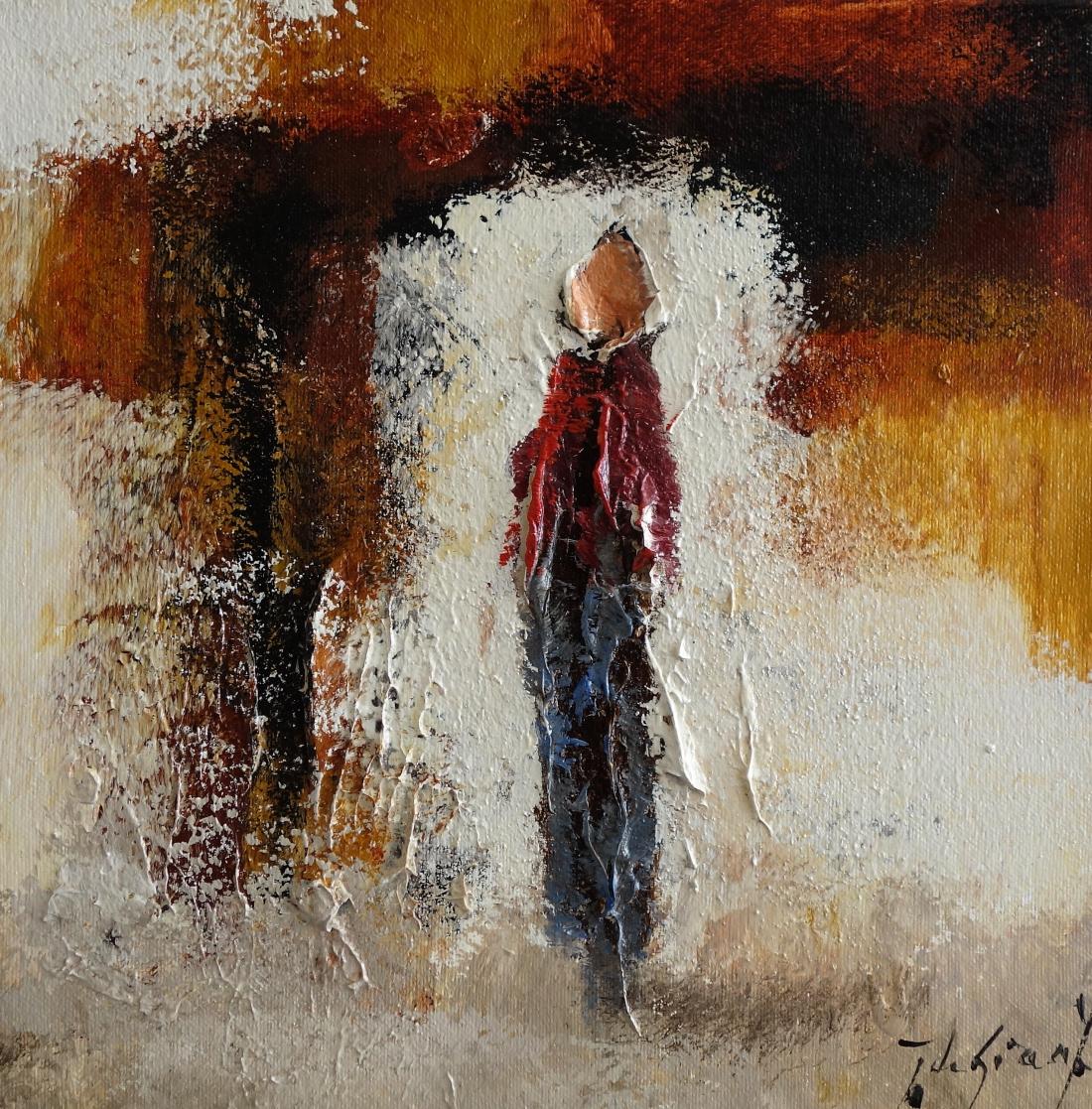 Schilderij figuratief 30x30