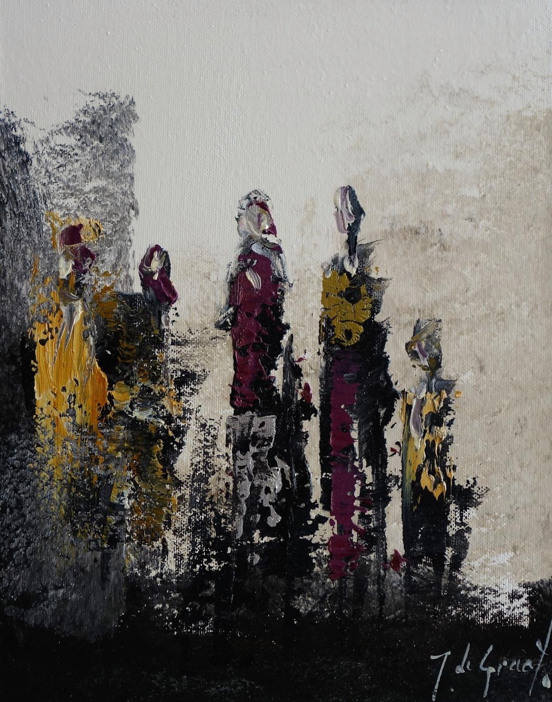 Schilderij figuratief 24x30