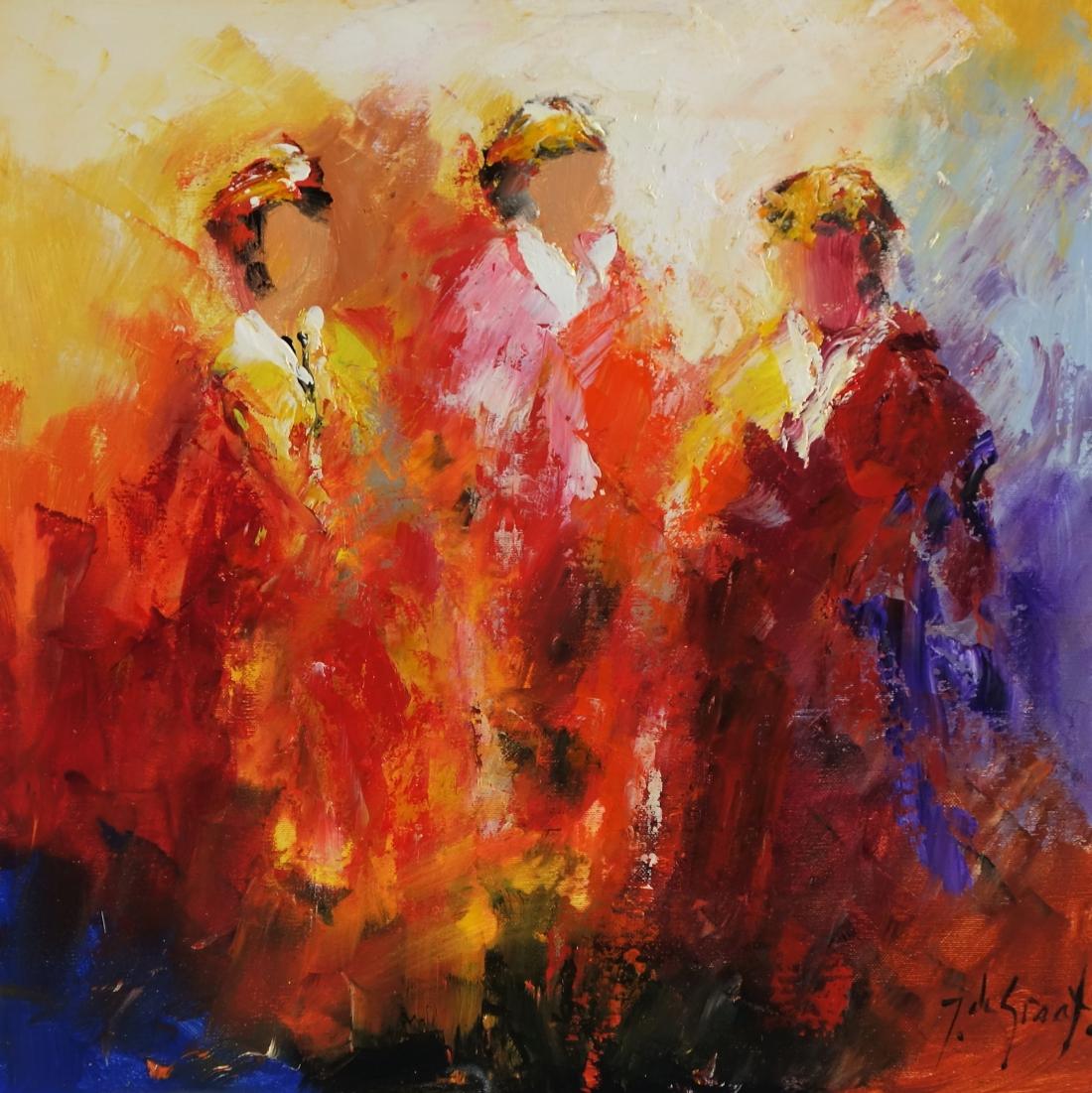 Schilderij figuratief 50x50