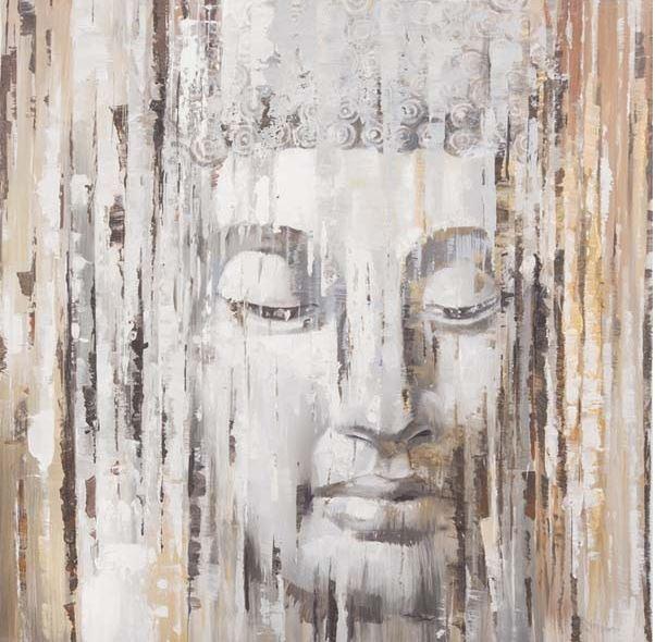 schilderij Boedha 100x100