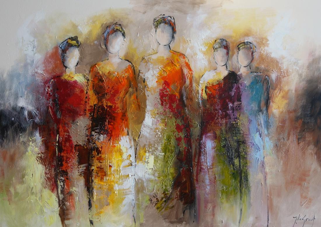 Schilderij figuratief 100x140