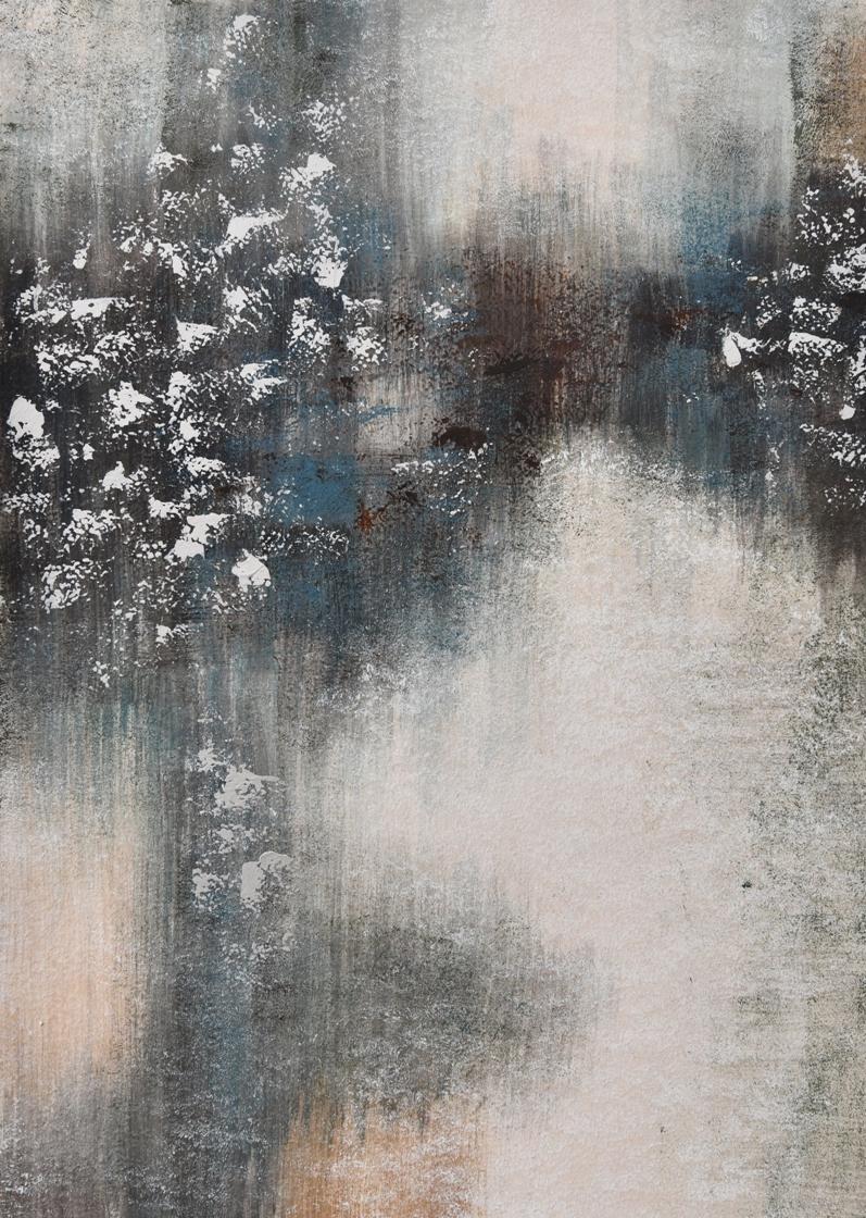 Schilderij abstract 74x100