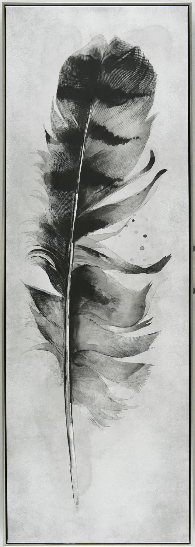 Schilderij veer 52x152