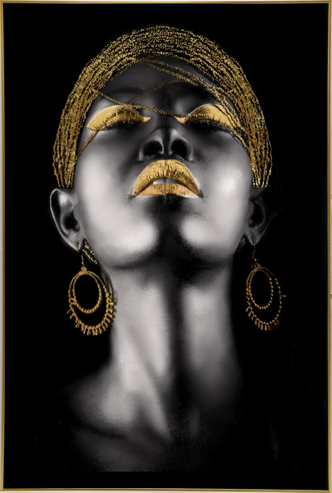 Schilderij vrouw 92x122