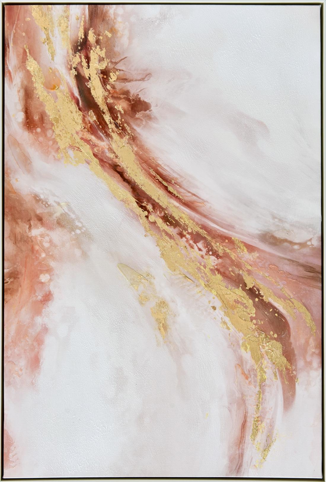 Schilderij abstract 62x92