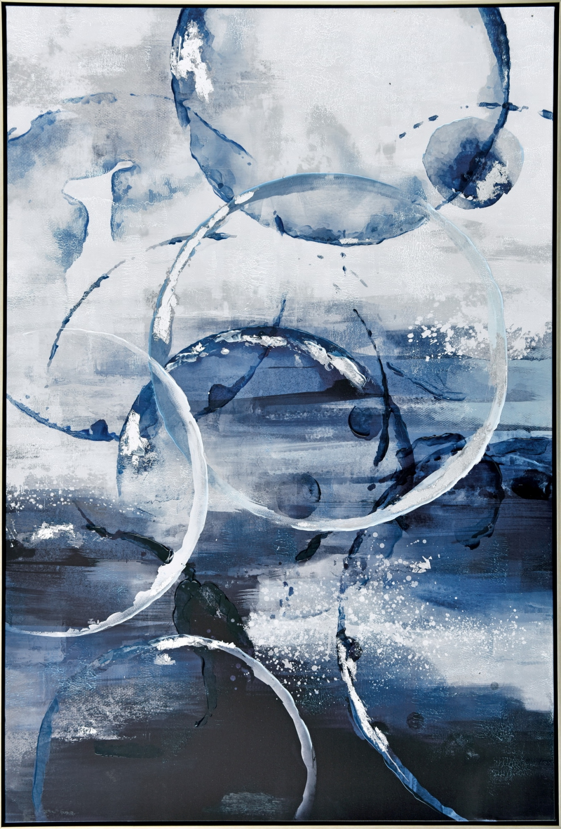 Schilderij abstract 82x122