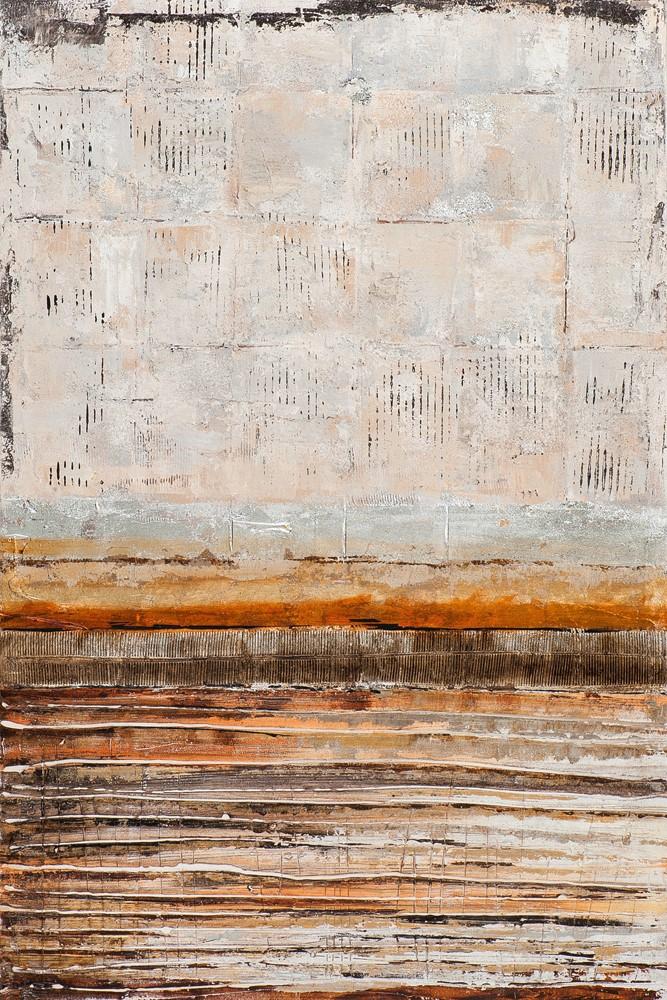 Schilderij modern zilver 60x90