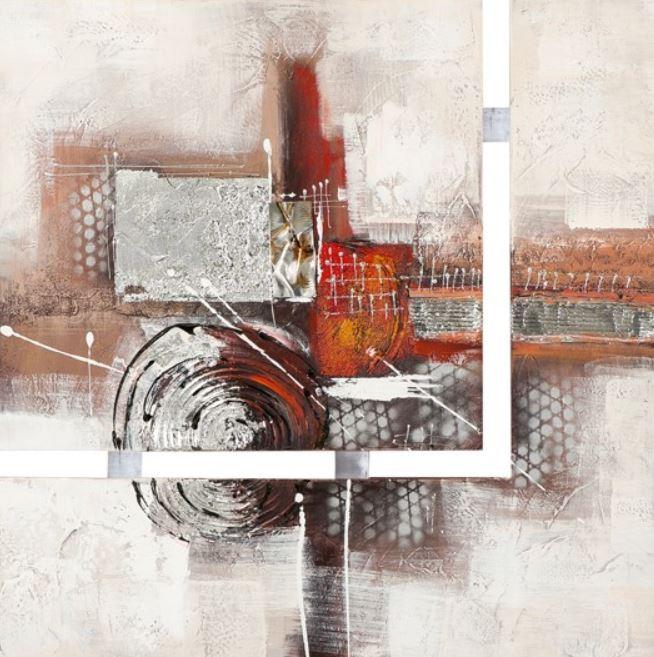 Schilderij Abstract 75x75