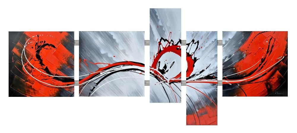 Meerluik schilderij modern 225x110