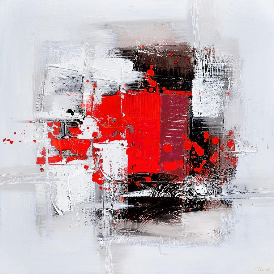 schilderij modern 60x60