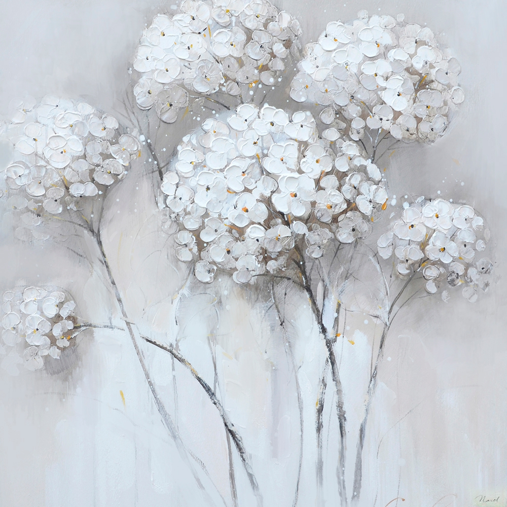 schilderij bloemen 70x70