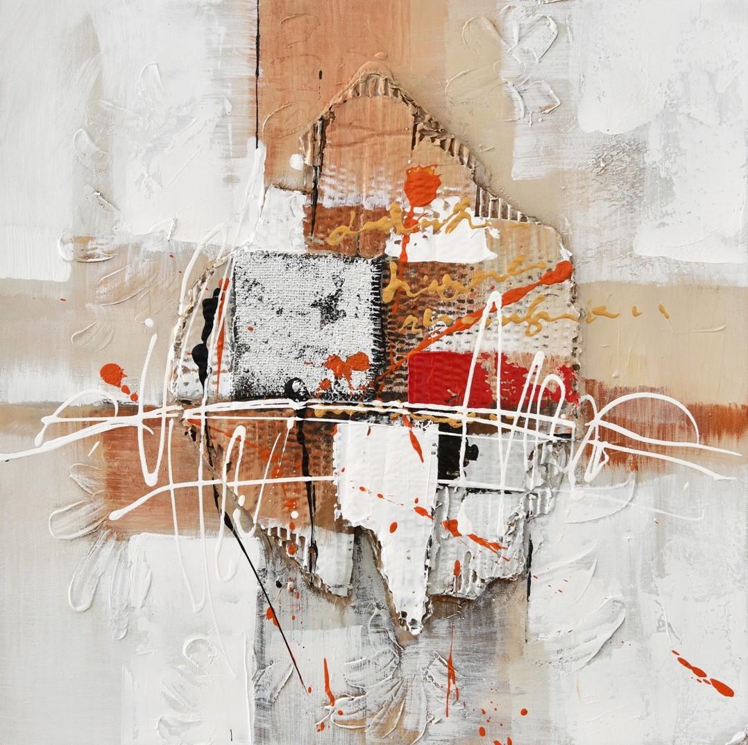 Schilderij abstract II 60x60