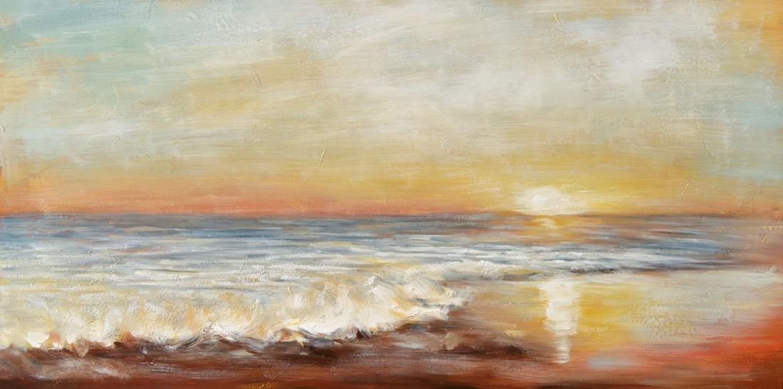 Schilderij horizon 70x140