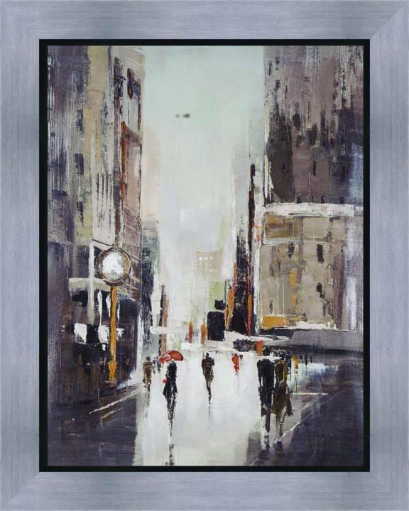 schilderij stad 40x50