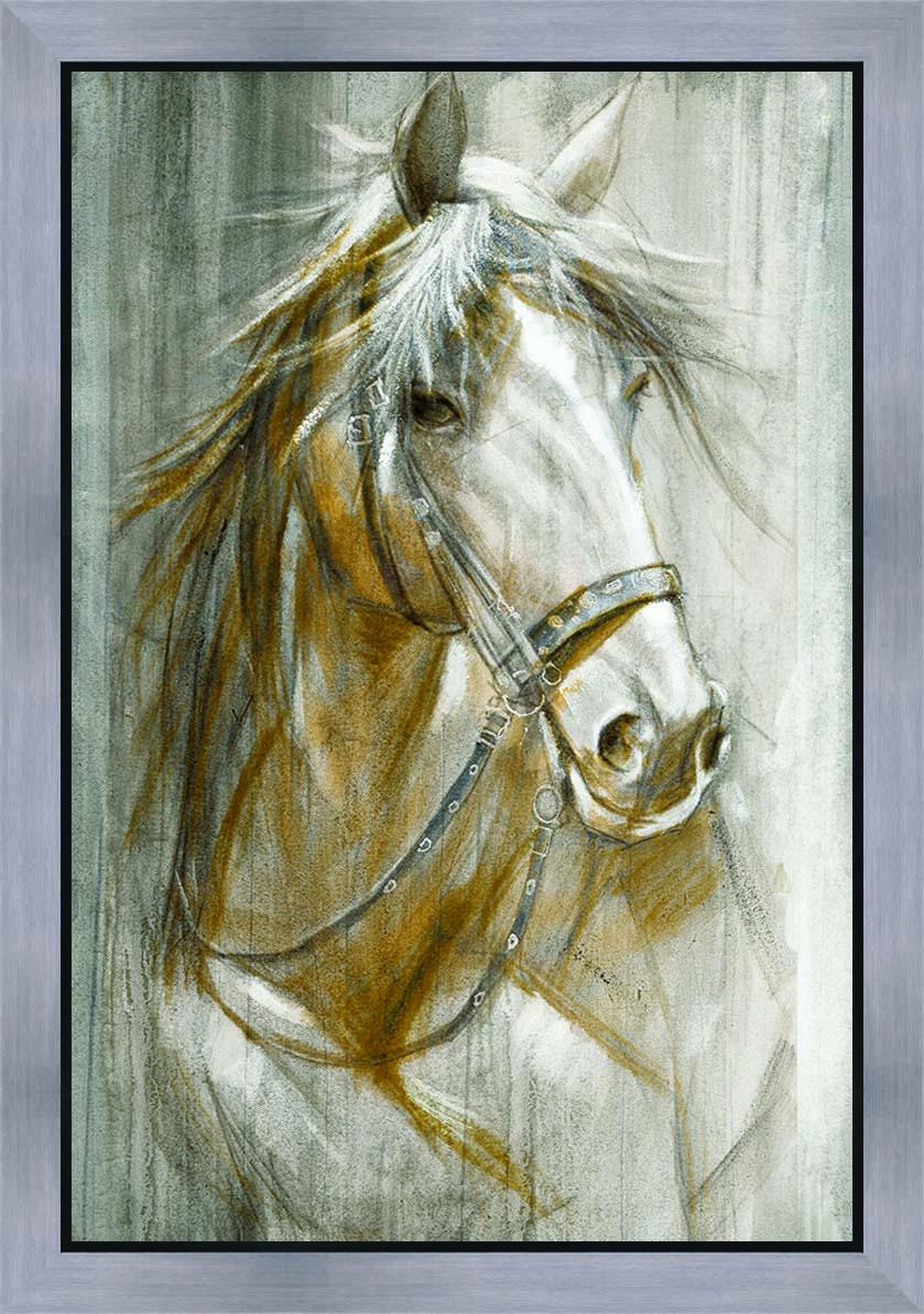 schilderij paard 60x90