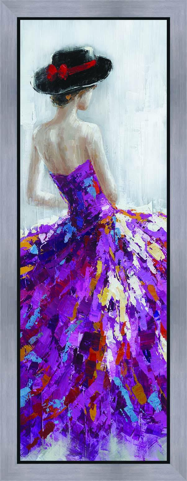 schilderij figuratief 40x120