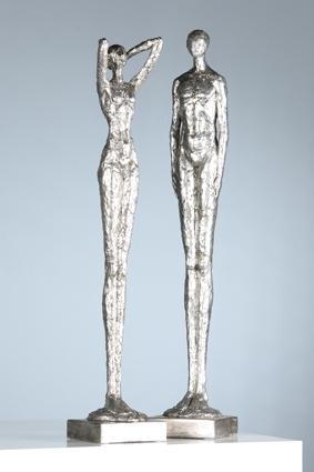 Figuratief beelden set  Man Vrouw