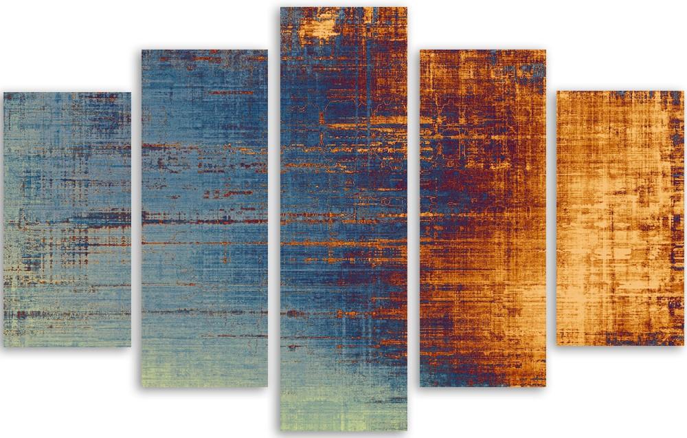 Meerluik fotokunst abstract 100x150
