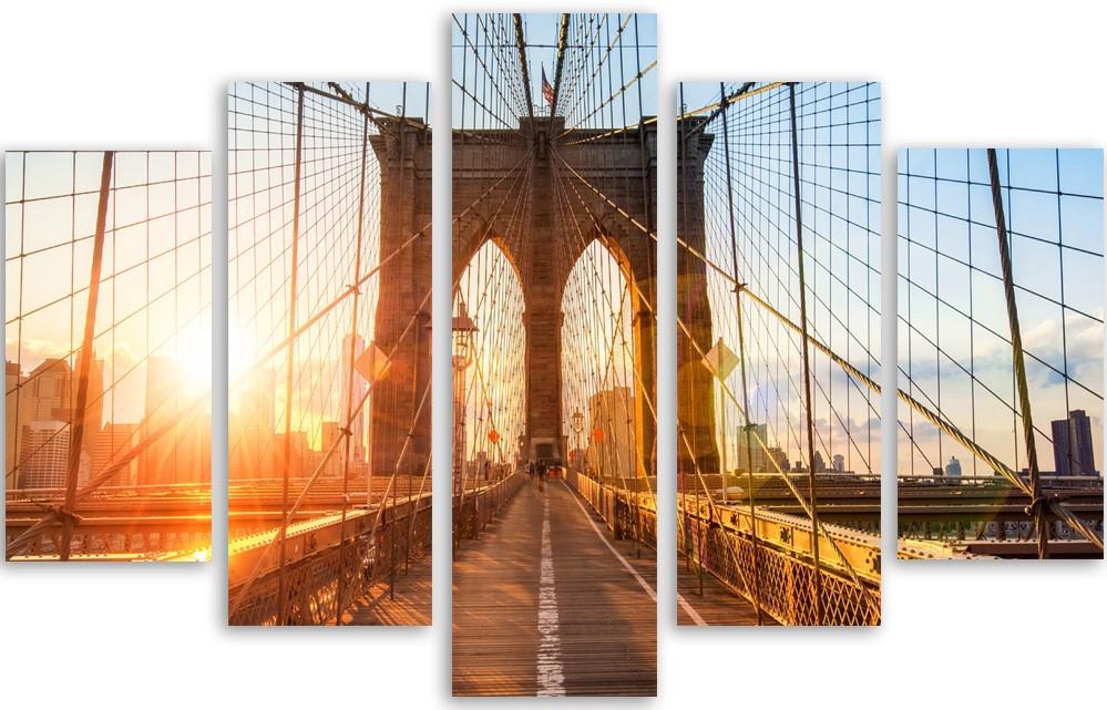 Meerluik schilderij Tower Bridge 100x150